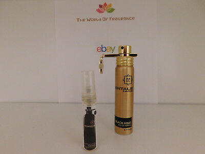 Decant 5ml Montale Black Aoud / The Best Price Guaranteed / Fast Shipping!