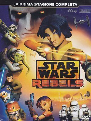 926427 Star Wars - Rebels - Stagione 01 (3 Dvd) (DVD)
