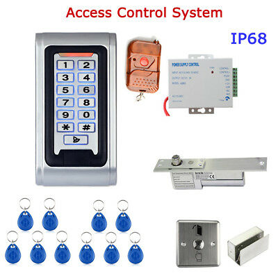 ENNIO SY5000WR-B DIY Waterproof Door Access Control System Kit Metal Case RFID R