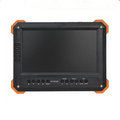 New 7 Inch HD CCTV Tester Monitor Analog HD TVI AHD CVI 4MP 1080P Camera Tester