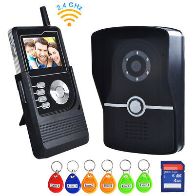ENNIO 3424PJ11 2.4 inch TFT LCD Screen Wireless Color Video Doorbell Intercom wi