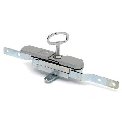 MS820 Triangle Type Showcase Display Cabinet Sliding Glass Door Lock with Key Sm