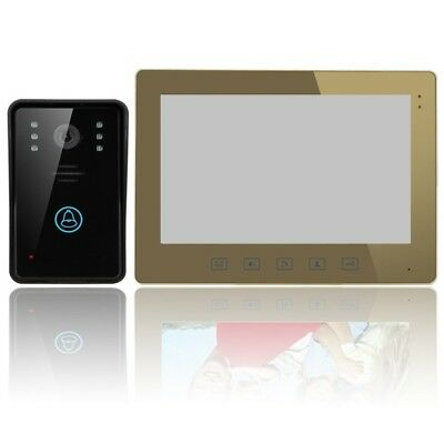ENNIO SY1001A-MJ11 10inch Video Door Phone Intercom Doorbell Touch Button Remote
