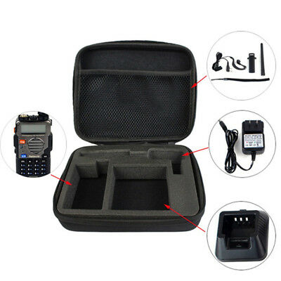 Storage Box Bag Handle Carrying Radio Case for Baofeng UV-5R Retevis RT-5R TYT T