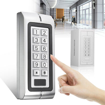 K2 Waterproof Password Keypad Card Reader Entry Door Lock Access Control System