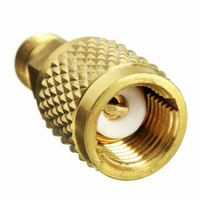 1/4inch Male SAE to 5/16inch Female SAE Adapter for R410a Mini Split HVAC System