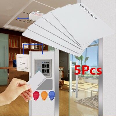 5Pcs RFID 125khz Card Proximity ID Access control Time Attendance System Card
