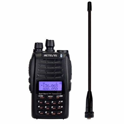 Retevis RT23 Walkie Talkie Cross-Band Repeater UHF+VHF 136-174+400-480Mhz Dual P