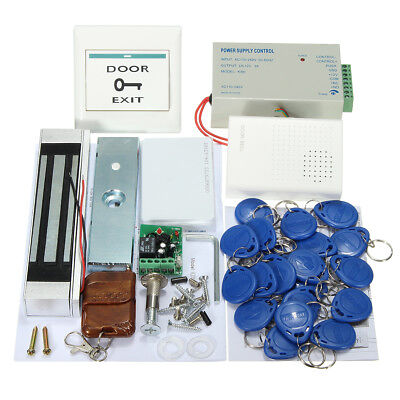 MJPT02 Entry Strike Door Lock Access Control System Bell 20 ID Card Remote Home