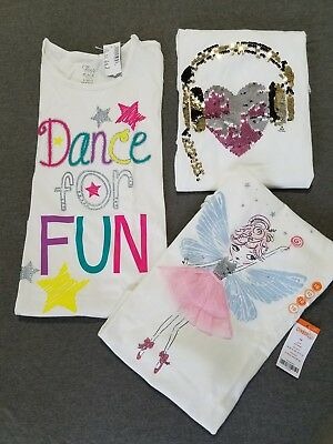 Total Girl, Gymboree, Children's Place Long Sleeve Tees NWT, Size 10/12 Girls