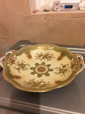 Noritake Japanese Pottery dish with gilt design - Excellent condition