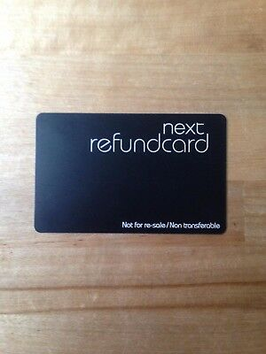 Next Gift Card & Next Refund Card TOTAL £56