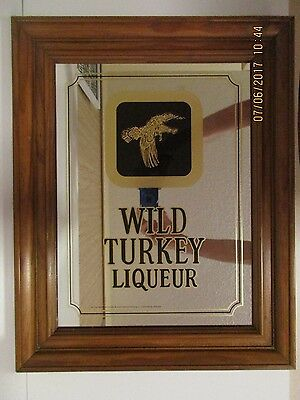 Wild Turkey Liqueur Bar Mirror