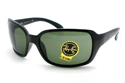 4f3bab1d8f463 RAY BAN 4068 601 G15 Black Green Sunglasses New Authentic -  89.95 ...