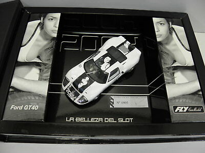 Fly  Slot Car Ford GT 40  No.2004 in Sammelbox  2004 mit Katalog und CD