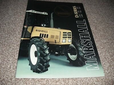 Marshall  D series brochure,642 to 844 models