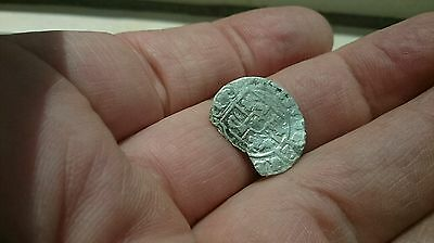 Selling as Unidentified rare? Medieval silver Hammered Coin 0.49g  L57L