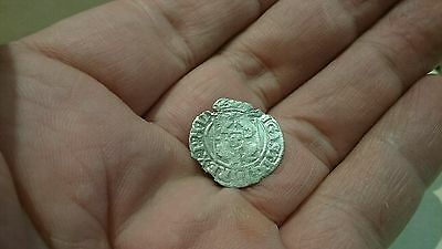 Selling as Unidentified rare? Medieval silver Hammered Coin 0.61g L57t