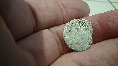Selling as Unidentified rare? Medieval silver Hammered Coin 0.82g L57k