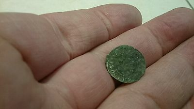 Selling as Unidentified rare? Medieval silver Hammered Coin 0.50g L57r