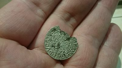 Selling as Unidentified rare? Medieval silver Hammered Coin 0.76g L57m