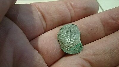 Selling as Unidentified rare? Medieval silver Hammered Coin 0.53g  P57n