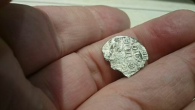 Selling as Unidentified rare? Medieval silver Hammered Coin 0.33g L57q