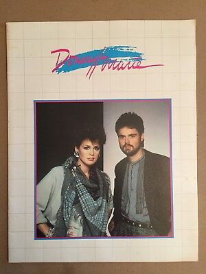 Donny and Marie Osmond Concert Program Book 1980s
