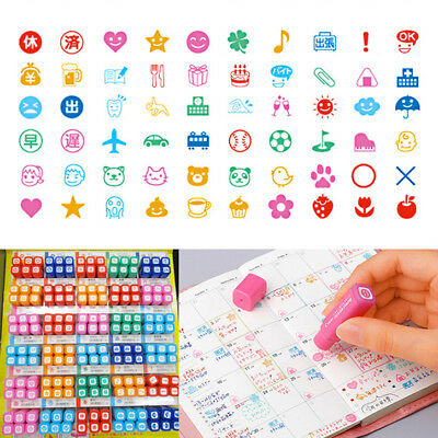 Pilot Frixion Stamps All 60 Variations Erasable SPF-12 Series Japan