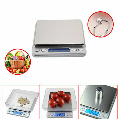 5Kg Digital LCD Electronic Kitchen Cooking Food Weighing Scales UK