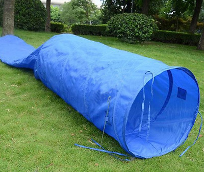 Dog Obedience Agility Training Tunnel Chute Portable Pet Puppy Exercise 16' New