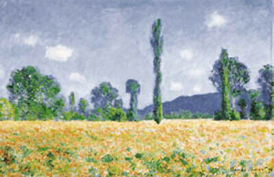 CLAUDE MONET ART PRINT The Wheat Field 16X20 POSTER