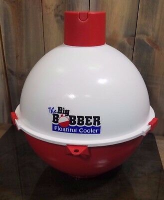 Fun Time The Big Bobber Floating Cooler Pull Behind Boat Novelty Fishing
