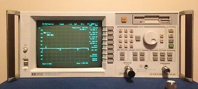 HP 8712C Network Analyzer (N type 50 ohm) 300 kHz to 1.3 GHz