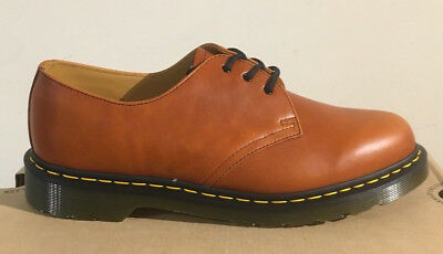 Dr. Martens 1461 English Tan Analine  Leather  Shoes Size Uk 4