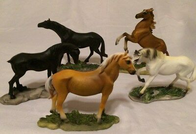 Collectible Horse Figurines, 5 Piece Lot Composition Unknown ...