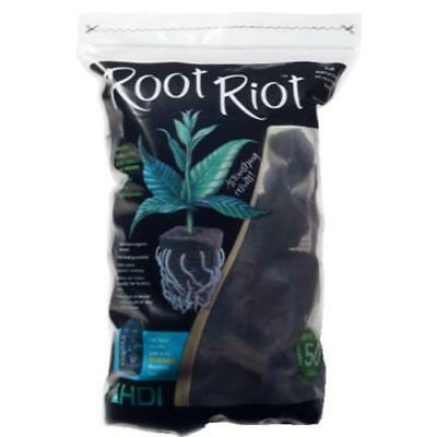 Root Riot 100 Cubes Plugs Pack Organic Seed Clone Starter Plugs HDI