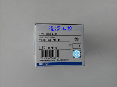 1Pc Brand NEW OMRON Solid State Relay G3NA-240B 5-24VDC