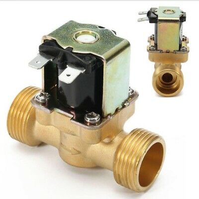 """1/2"""" 12V Electric Solenoid Valve Magnetic DC Water Air Inlet Flow Switch Valve"""