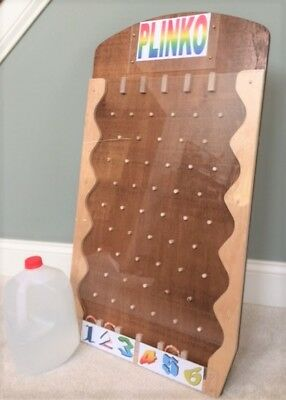 Portable Plinko Game for Trade Shows, Carnivals, Parties w/ full accessories
