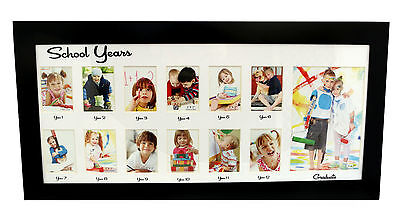 School Years Black Photo Gallery Picture Frame My First Year School Memory