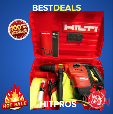 Hilti Te 60 Avr Atc Hammer Drill, New, Free Grinder, Extras, Fast Ship