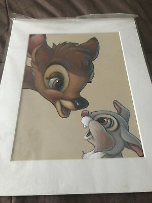 Disney Bambi & Thumper Picture By Bruce McGraw Graphics