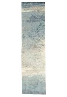 Hallway Runner Hall Runner Rug Modern Blue 3 Metres FREE DELIVERY 563