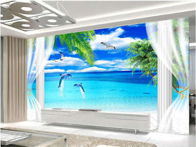 Sober Invariable Sea 3D Full Wall Mural Photo Wallpaper Printing Home Kids Decor