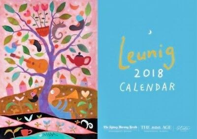 Leunig Calendar 2018 Michael Leunig The Age The Sydney Morning Herald 🇦🇺🇦🇺