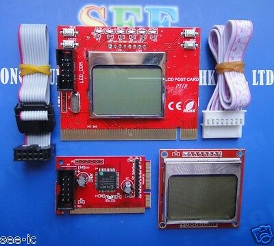 Diagnostic Post Test Card For Laptop PCI/ Mini PCI / LPC  with Double Screen