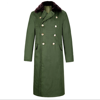 Chinese Army Pla Communist Party Type 85 Winter Military Uniform Greatcoat Coat