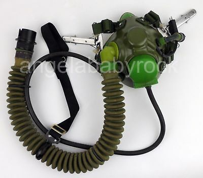 Chinese Pla Air Force Fighter Pilot Ym6 Aircraft Oxygen Mask Military Equipment