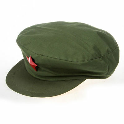 Ww2 Wwii Collection China Mao Tse Tung Red Liberation Army Military Hat Cap Xl